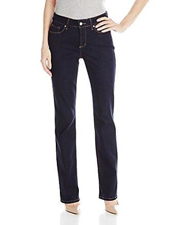 NYDJ Womens Marilyn Straight Leg Denim Jeans, Larchmont Wash, 0