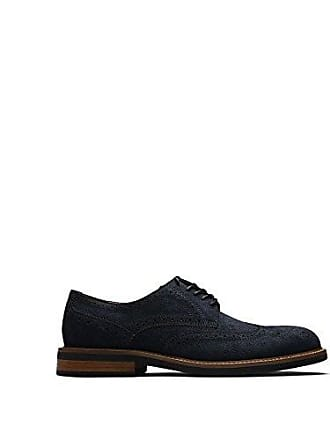 Kenneth Cole Reaction Mens Design 20631 Oxford, Navy, 7.5 M US