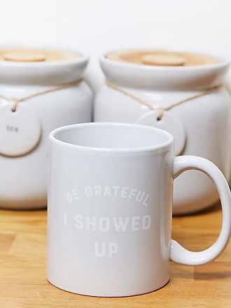 Typo Typo mug with be grateful I showed up slogan-Multi