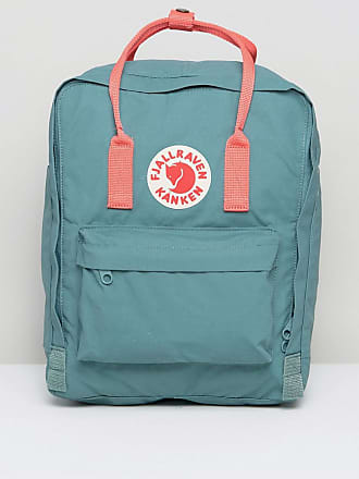 78feb309bbcd1 Fjällräven Classic Kanken Backpack in Green with Contrast Pink
