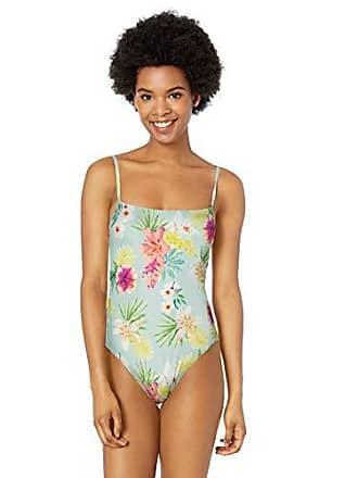 9eff26646448a Rip Curl Juniors Sweet Aloha Cheeky One Piece Swimsuit, Aqua, XL