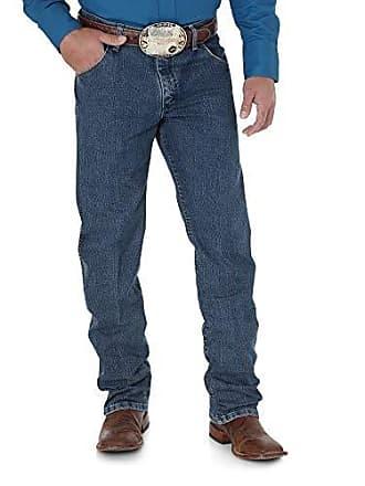 Wrangler Mens Premium Performance Advanced Comfort Cowboy Cut Reg Jean, Mid Tint, 30W x 34L