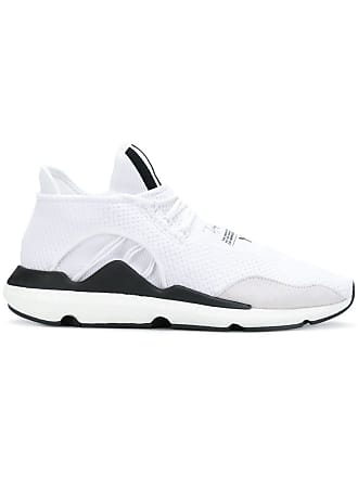 3dba7d19dda1d Yohji Yamamoto Saikou suede trimmed sneakers - White