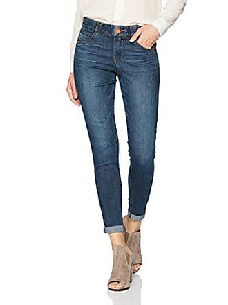 Democracy Womens Ab Solution Ankle Skimmer Jean, Indigo, 2