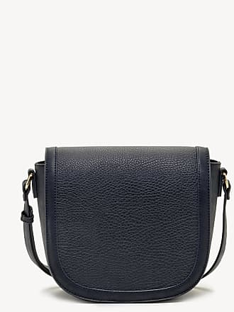 Sole Society Womens Finnigan Mixed Material Crossbody Bag Navy Vegan Leather From Sole Society