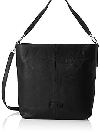 11e2bc51818bd Liebeskind Damen Essential Hobo Medium Schultertasche Schwarz (Black)  13x34x30 cm