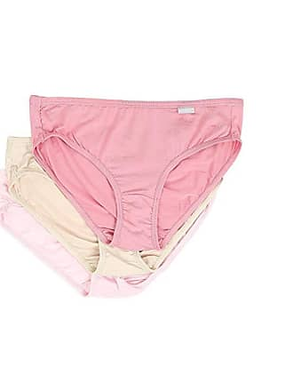 27e6b4db5 Jockey Elance(r) Supersoft Bikini 3-Pack (Pink Scroll Blush