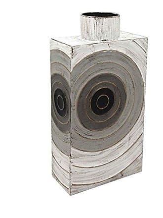 Sagebrook Home 13129-01 Metal Vase, 9.75 x 4.75 x 19.25, Multicolor