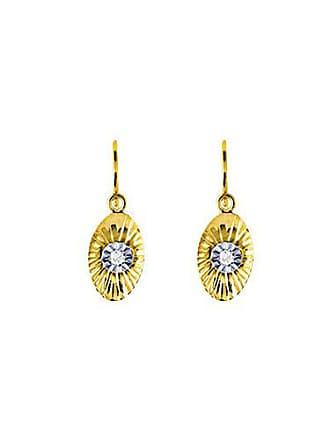 00396de8383f Bijoux pour tous Pendientes con diamante (0)