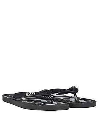 af654142f BOSS Rubber flip-flops with contrasting logo detail