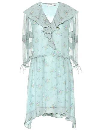 Coach Floral silk georgette dress