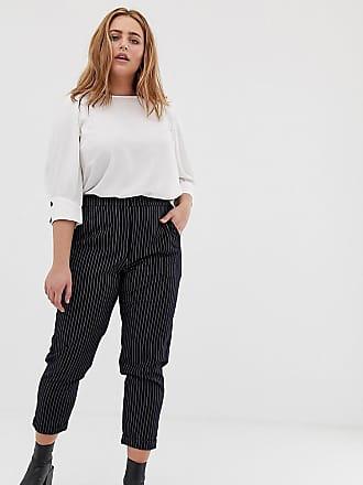 Vero Moda Curve slim tailored pants - Navy