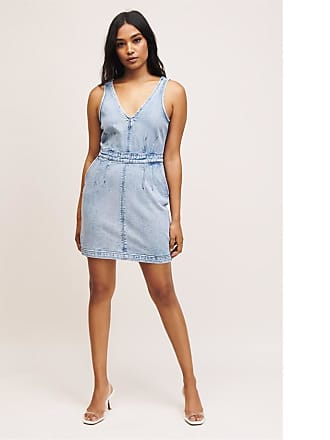 Dynamite Acid Wash Denim Dress Phoebe