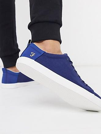 Farah Blaue Sneaker aus Stoff