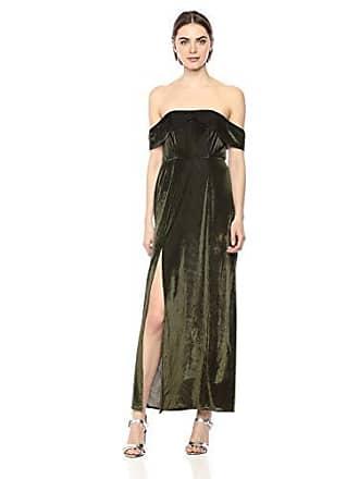 00e0693cfa368 Show me your Mumu Womens Upton Off Shoulder Maxi Dress