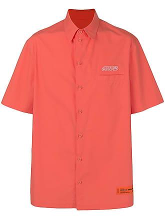 HPC Trading Co. embroidered logo shirt - Laranja