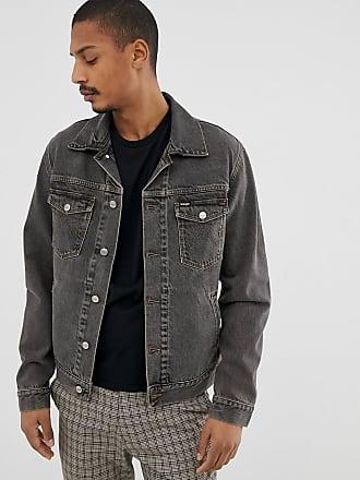 b2e458322c Wrangler regular fit denim jacket in desert black wash