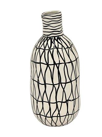 Three Hands 73567 Ceramic 11.5 in. Bud Table Vase - 73567