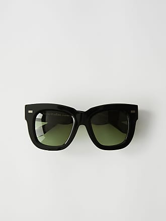 Acne Studios Library Metal Black Oversized sunglasses