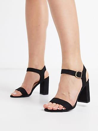 New Look – Vita sandaler med låg klack