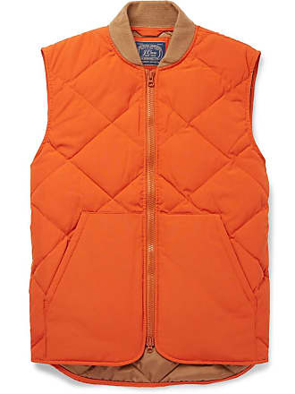 J.crew Nordic Quilted Shell Gilet - Orange