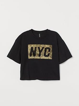 H&M Short T-shirt - Black