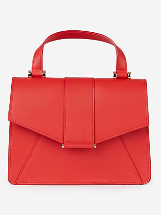 f94cd658ac Galeries Lafayette Sac cartable Axel cuir Rouge Galeries Lafayette