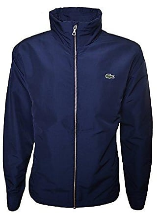 8af0b21ca73a Lacoste Blouson Homme - Bleu (Marine) - Small (Taille Fabricant : 48)