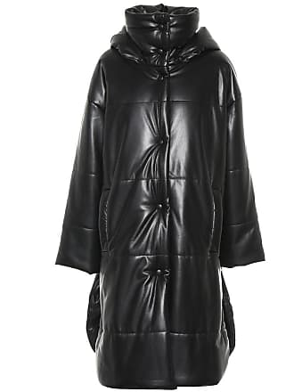 Nanushka Eska faux leather puffer coat