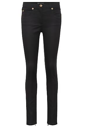 52570347e073 Versace Pantaloni skinny in denim stretch