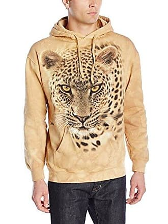 The Mountain On The Prowl Hoodie, X-Large, Sand
