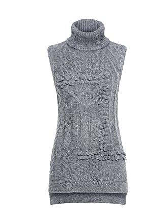 Derek Lam Oversized Turtleneck Sweater Grey