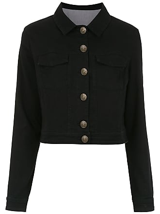 À La Garçonne 5 Pockets denim jacket - Black
