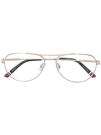 Etnia Barcelona Armação de óculos aviador - Metálico