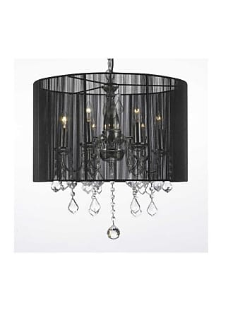 Gallery T40-291 6 Light 1 Tier Crystal Candle Style Chandelier with
