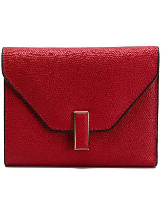 Valextra Iside fold wallet - Vermelho