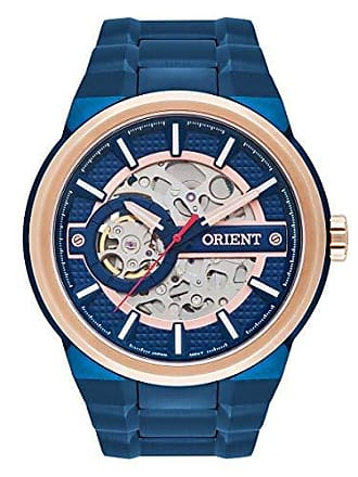 Orient Relógio Masculino Orient Automático NH7BR001 D1DX Azul