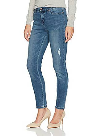 Lee Womens Modern Series Midrise Fit Anna Skinny Ankle Jean, Indigo Vibes, 8 Long