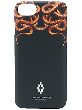 Marcelo Burlon Capa para iPhone 8 - Preto