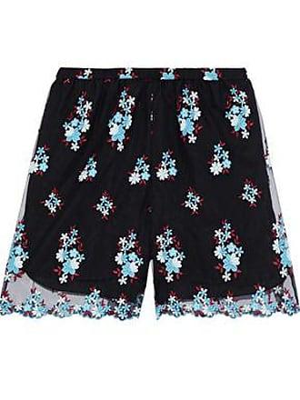 Philosophy di Lorenzo Serafini Philosophy Di Lorenzo Serafini Woman Embroidered Tulle Shorts Black Size 38
