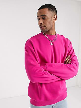 Asos Tall - Felpa oversize mora rosa