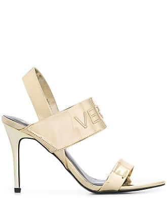 b45fd3d031f Versace Jeans Couture gold stiletto pumps - 901