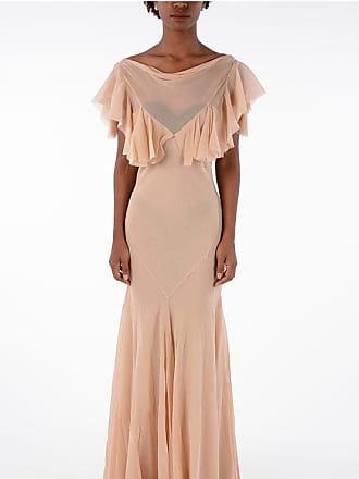 Maison Margiela MM0 Frilled Embroidered Dress Größe 40