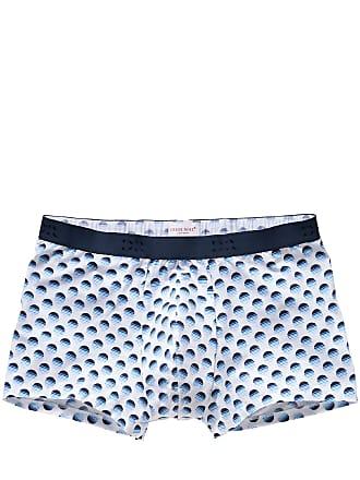 4394253042a22 Derek Rose Herren Boxershorts Hipster by Circle weiß 5 M