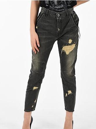 Diesel BLACK GOLD 14 cm stone washed CARROT distressed jeans Größe 29