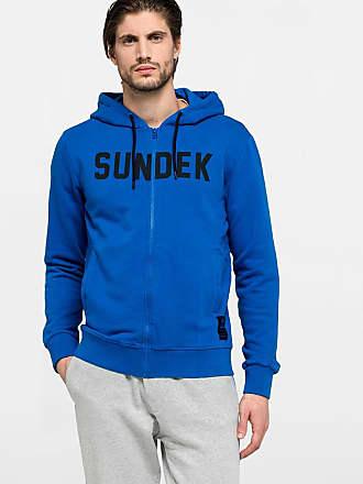 Sundek hooded sweater with zip