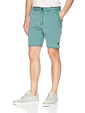 O'Neill Mens 19 Inch Outseam Hybrid Stretch Walk Short, Forest Green, 36
