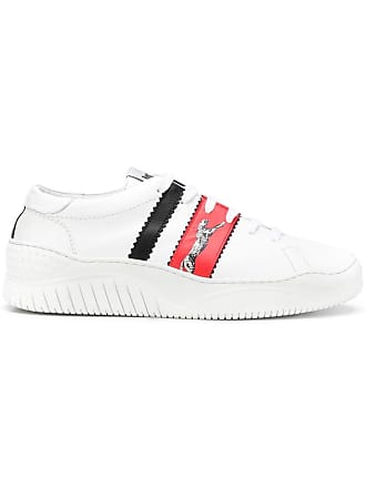 Just Cavalli colour-block sneakers - White