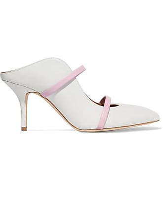 Malone Souliers Maureen 70 Leather Mules - White