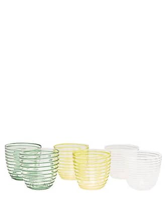 Yali Glass Set Of Six A Filo Goto Tumblers - Multi